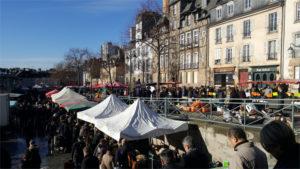 Marché des Lices à Rennes